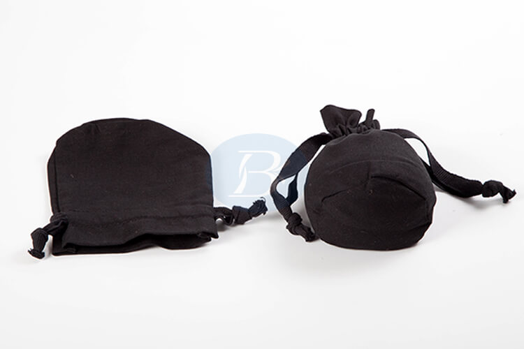 small black drawstring pouch manufacturer