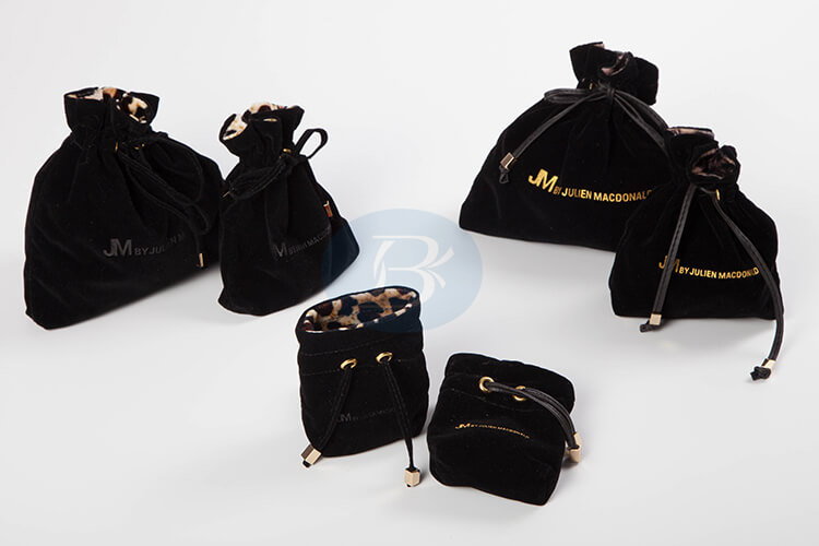 velvet drawstring pouch wholesale