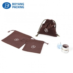 Professional custom brown small cotton gift bags manufacturer