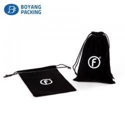 Black small velvet bags, small velvet bags manufacturer