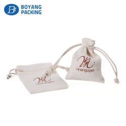 Rich experience jute drawstring pouch manufacturer