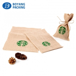 Delicate jute drawstring bags producers