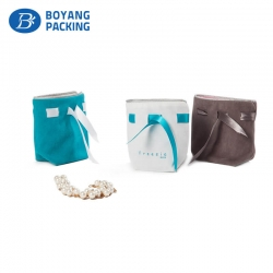 High quality velvet drawstring pouch wholesale factory
