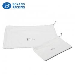Beautiful small cotton drawstring bags custom