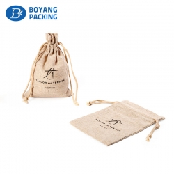 Custom personalized jute bags factory