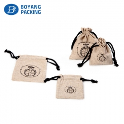 Professional custom jute bag design factory