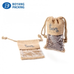 Fancy jute bags online custom factory