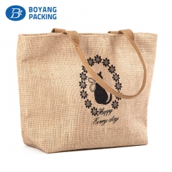 Beautiful and practical jute handbags manufacturer