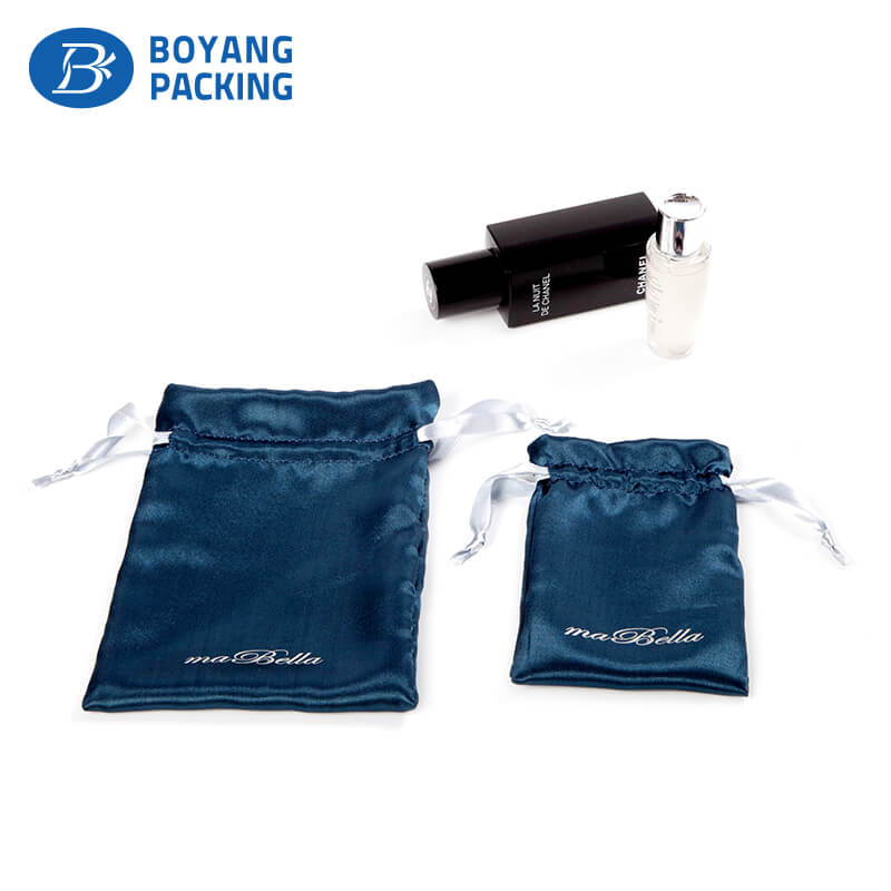 Design custom satin drawstring pouch manufacturer