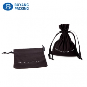 Brown cotton design packing pouch manufacturer
