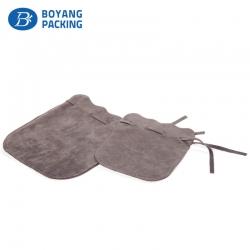Custom velvet pouches wholesale design manufacturer