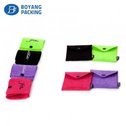 Custom small velvet bags manufacturer factory