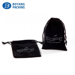 High quality velvet pouch with customizable Logo