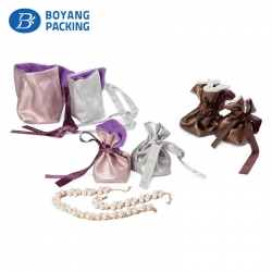 Drawstring jewelry bags, jewellery gift bags factory