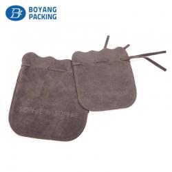 custom velvet drawstring pouch bag,velvet bag factory