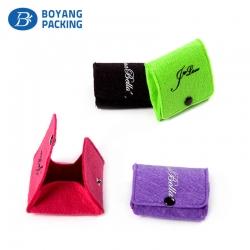 Custom velvet pouches wholesale,velvet pouches factory