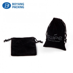 Fine velvet pouch for jewelry,jewelry pouch wholesalers