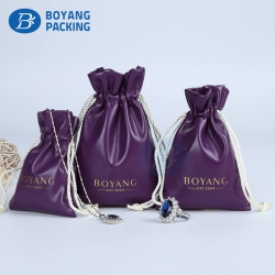 custom gift bags wholesale,Pu jewelry pouch factory
