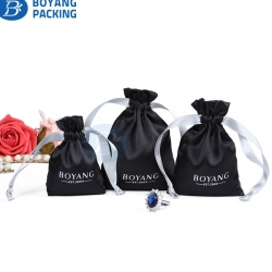 Satin bags wholesale,custom drawstring pouch