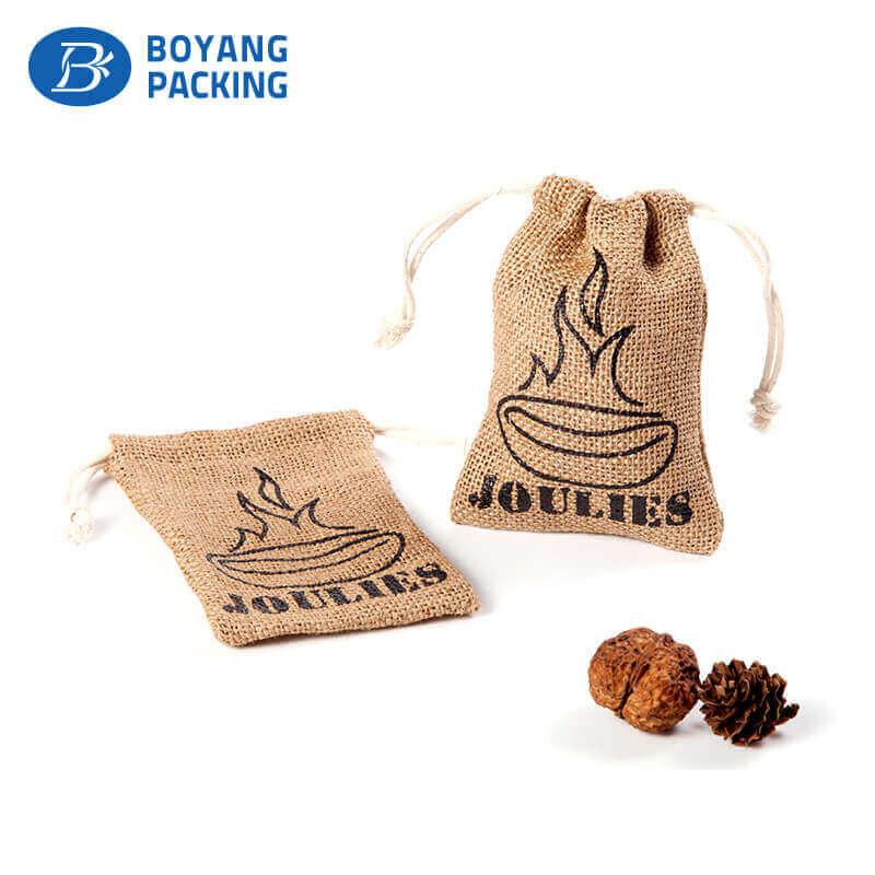 Custom coffee bean mini jute bags wholesale factory