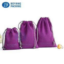 Beautifully velvet pouches wholesale,jewelry pouch manufacturer.