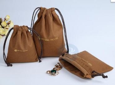Canvas drawstring bag advantages and collocation.