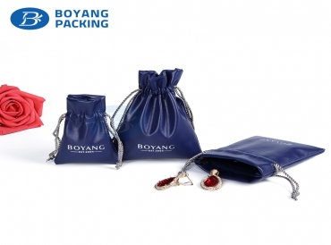 Custom jewelry drawstring bags wholesale factory