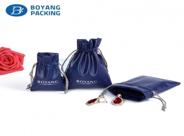 Features and application of drawstring jewelry pouch for different materials
