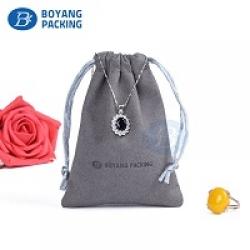 Custom jewelry pouches velvet drawstring pouch