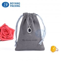 Custom Jewelry pouches  drawstring bags factory