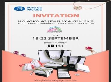 INVITATION FROM HONGKONG JEWELRY & GEM FAIR