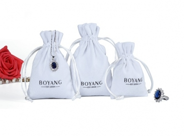 What are the advantages and disadvantages of white jewelry velvet bags?